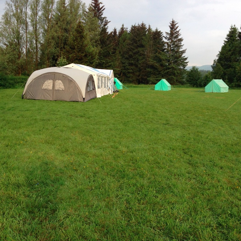Camp Pitched